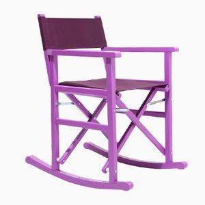 Sedia a dondolo da regista Arenal di Swing Design