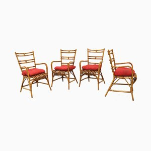 Mid-Century Italian Chairs, Set of 4