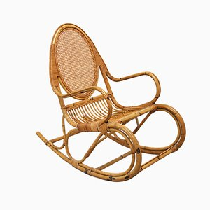 Mid-Century Italian Rocking Chair