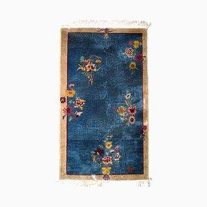 Chinesischer Vintage Art Deco Teppich, 1920er