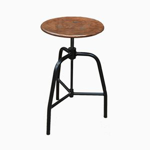 Industrial Copper Stool, 1960s