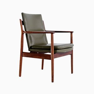 Mid-Century Armchair by Arne Vodder for Sibast