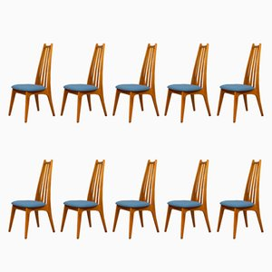 Chairs from Edmund Homa, 1960s, Set of 10