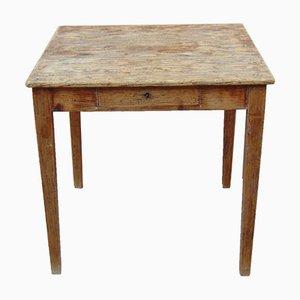 Mesa auxiliar rústica vintage