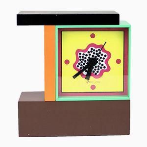 NEOS Memphis Uhr von Nathalie du Pasquier & J. Sowden für Lorenz Design, 1988