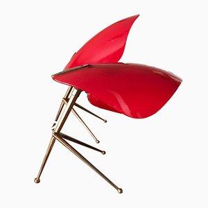 Lampade da tavolo tripode di Stilnovo, anni '50, set di 2