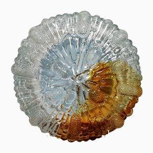 Vintage Murano Glass & Metal Wall Sconce
