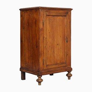 Mobiletto in legno d'abete massiccio, XIX secolo