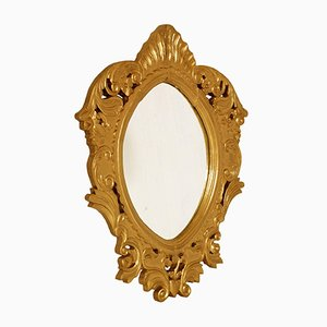 18th-Century Baroque Arab Giltwood Mirror, 1700s