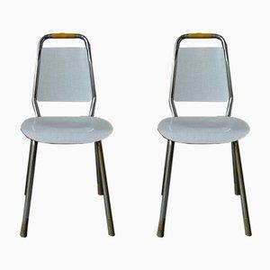 Moderne Stühle aus Resopal, 1950er, 2er Set