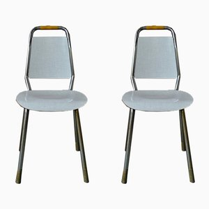 Modernist Formica Chairs, 1950s, Set of 2