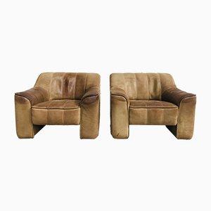 Vintage DS44 Sessel aus Nackenleder von de Sede, 2er Set