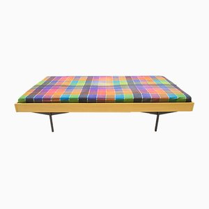 Mid-Century Daybed on Metal Square Feet from Karl Ohr, 1960s