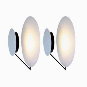 Vintage Wall Lights by Vega Cesaro & Amico for Tre Ci Luce, 1980s, Set of 2