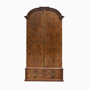 Art Deco Burr Wardrobe, 1920s