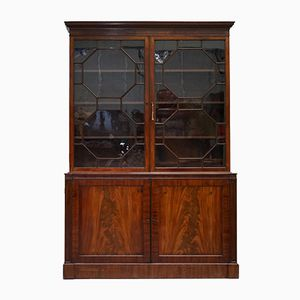 Mahogany Bookcase from Waring & Gillow's, 1920s