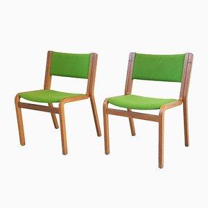 Chairs by Johnny Sorensen & Rud Thygesen for Magnus Olesen, 1970s, Set of 2