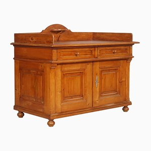 Antique Country Larch Washbasin Cabinet