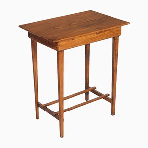 Solid Pine Side Table, 1920s