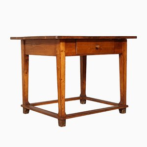19th-Century Tyrol Solid Wooden Desk, 1880s