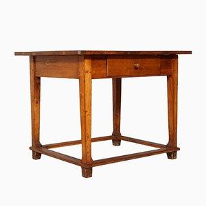 Scrivania tirolese in legno massiccio, XIX secolo, fine XIX secolo