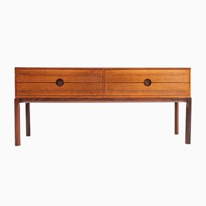 Mid-Century Danish Rosewood Commode by Kai Kristiansen for Aksel Kjersgaard