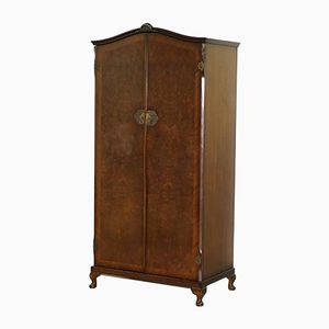 Burr Walnut Wardrobe, 1930s