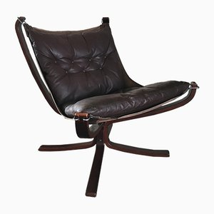 Vintage Falcon Chair by Sigurd Ressell for Vatne Møbler, 1970s