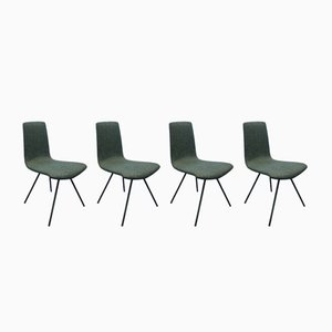 Chairs by Hans Bellmann for Horgenglarus, 1950s, Set of 4