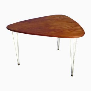 Teak Coffee Table by Kajsa & Nisse Strinning for String, 1960s