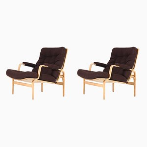 Mid-Century Ingrid Lounge Chairs by Bruno Mathsson for DUX, 1960s, Set of 2