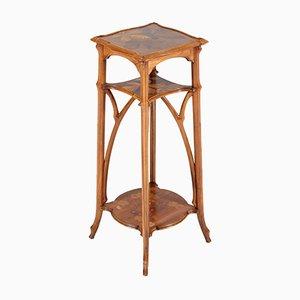 Tavolino in legno di noce di Emile Gallé, Francia, inizio XX secolo