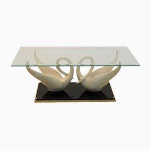 Swan Tisch von Maison Jansen, 1970er