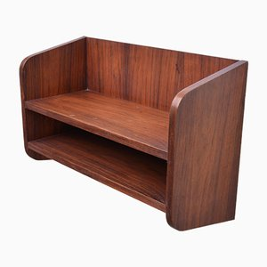 Small Danish Rosewood Wall Shelf, 1960s