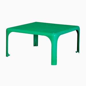 Tavolino Demetrio 45 verde di Vico Magistretti per Artemide, 1964