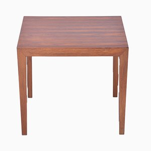 Vintage Rosewood Side Table by Severin Hansen, 1960s