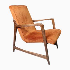 Mid-Century 364 Armchair by Barbara Fenrych-Węcławska for Bystrzyckie Fabryki Mebli, 1960s