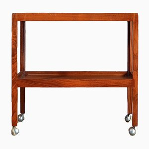 Mid-Century Danish Teak Drinks Trolley