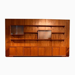 Teak Wall Unit by Poul Cadovius for Cado, 1950s