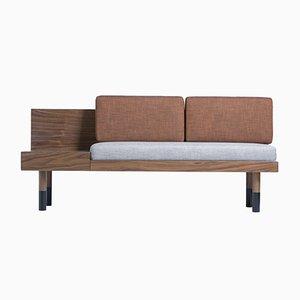 Mid Loveseat Sofa von Meghedi Simonian für Kann Design