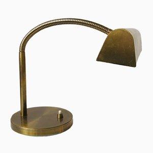 Lampe de Bureau Mid-Century en Laiton de E. S. Horn, 1950s