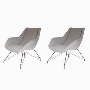 Mid-Century Brazilian Armchairs by Carlo Hauner & Martin Eisler for Forma, 1960s, Set of 2