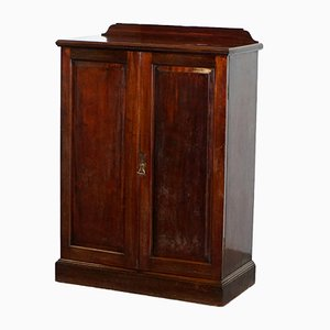 Victorian Walnut Cupboard from Howard & Sons
