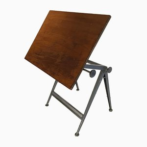Vintage Drawing Table by Friso Kramer & Wim Rietveld for Ahrend De Cirkel, 1970s