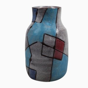 Vase Vetrata par Aldo Londi pour Bitossi, 1950s