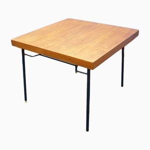 Mesa plegable alemana de teca, años 60