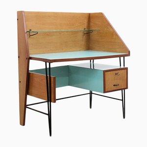 Mid-Century Schreibtisch mit Arbeitsplatte aus Resopal von Campo & Graffi