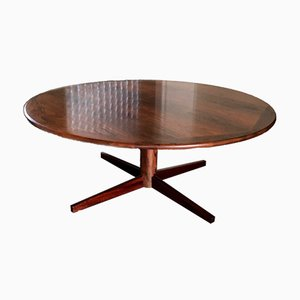 Mid-Century Scandinavian Rosewood Coffee Table, 1960s