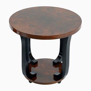 Tavolino rotondo Art Déco, anni '30