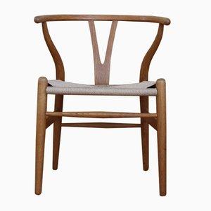 Mid-Century CH24 Wishbone Chair aus Eiche von Hans J. Wegner für Carl Hansen & Søn